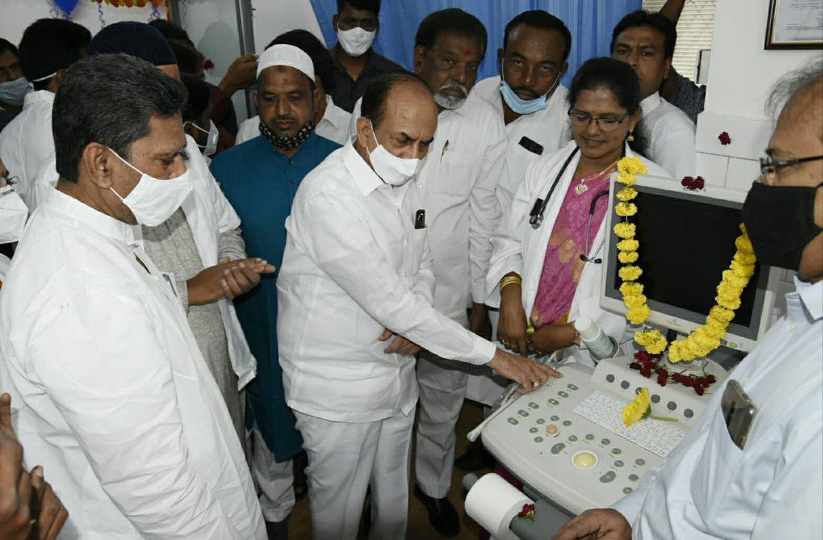 Kausar Mohiuddin On Twitter Inaugurated Free Diagnostic Center At Area Hospital Parnipura Along With Home Minister Trsmahmoodali Sb 1 Ultrasound 2 Ecg 3 Xray 4 Usg 5 Pathology Services Aimim National Would Ensure