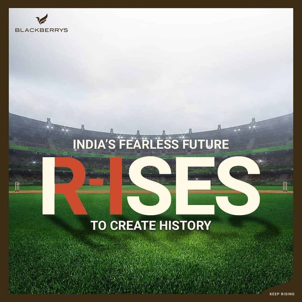 What we witnessed in the #IndvAus Series was not just the victory of a team in match or a series.  It was the RISE of a new dauntless and self-confident mind-set of the #NewIndia. Dressed in white, this incredible Team Blue rose to the occasion when it m…