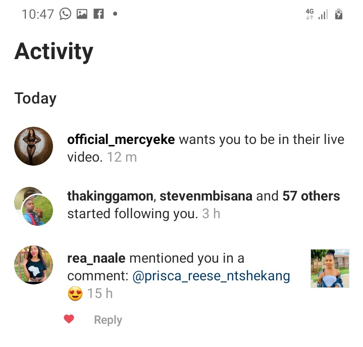 Just this has made my day🥰❤🙈even though I didn't pick becos my network was very poor..next time I better talk to her oo😭❤I love this woman so much❣she inspires me everyday😘GOD BLESS YOU MERCY EKE🙏❤ @real_mercyeke  #MercyEke