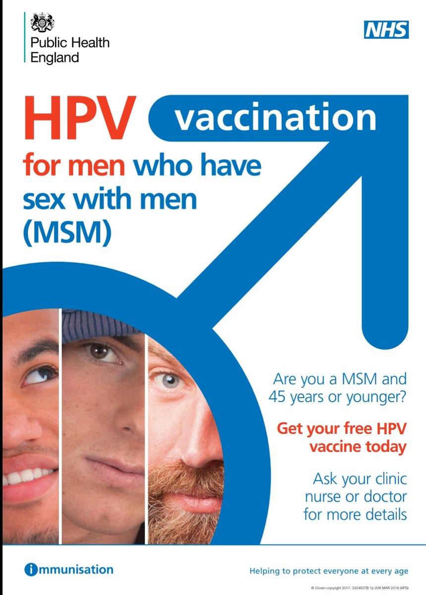Hiv and bowel cancer - Main navigation, Nhs hpv msm