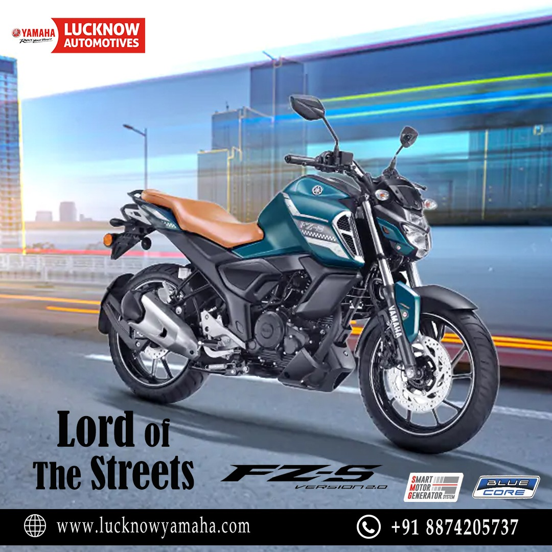 The all-new FZS FI with improved engine settings makes the bike even more responsive leading to quick initial pickup and delivering smooth acceleration. Call Us📲:- For service:6388969783,8887745449 For sales: 8948433111 For spare: 9670419111 #Yamaha #yamahaindia #fridaymorning