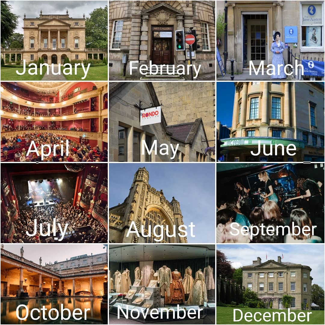 Where will you be visiting? When all of this is over. #visit #bath #art #culture #visitbath #local #theatre #music #museum