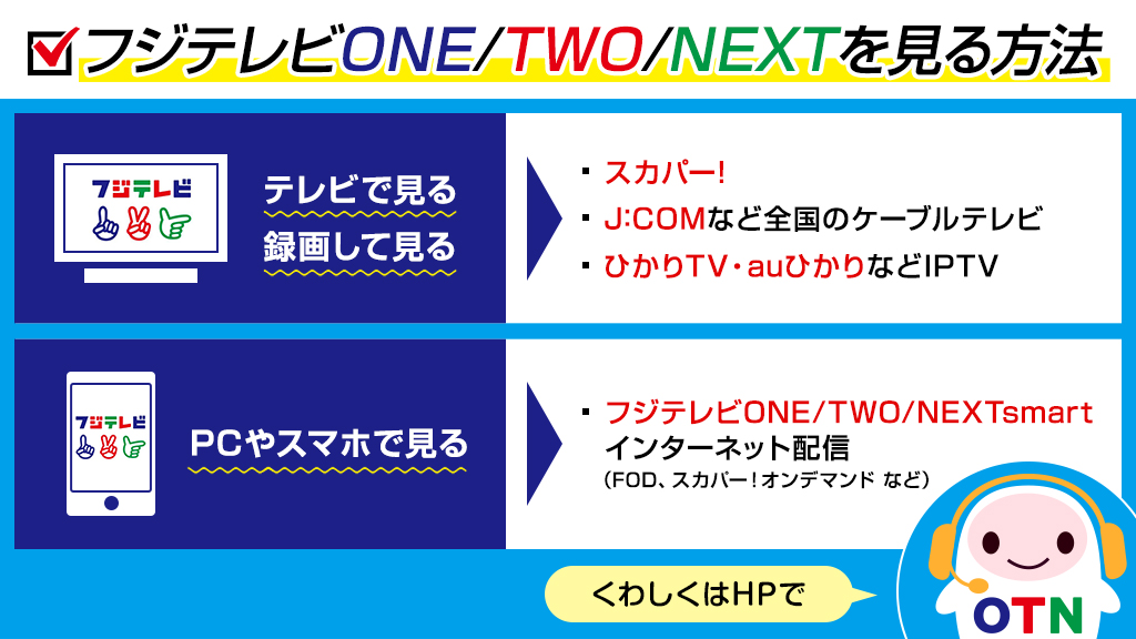 Next フジ テレビ