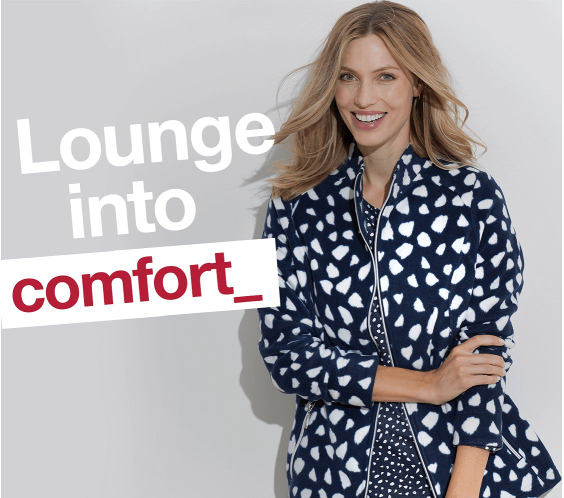 Leisurewear That Loves You Back Relax into comfort, but keep your style... Shop Leisurewear: bit.ly/3dBx6kO