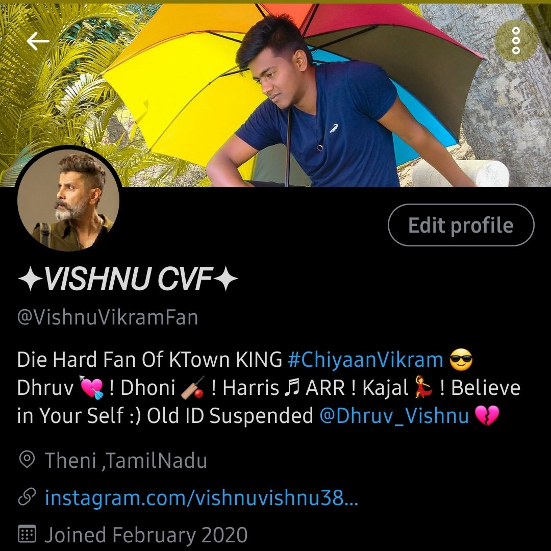 Reached 100 followers. Thank you to all #ChiyaanVikram fans.  Keep supporting guys!  Active cvf comment pannunga naan follow pannikiren and follow back pannunga!🤗❤️  #Cobra #Chiyaan60 #CobraTeaser #PonniyinSelvan #DhruvaNatchathiram