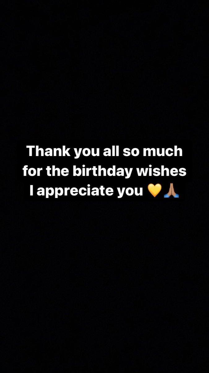 ** #ThankYou 🙏🏽