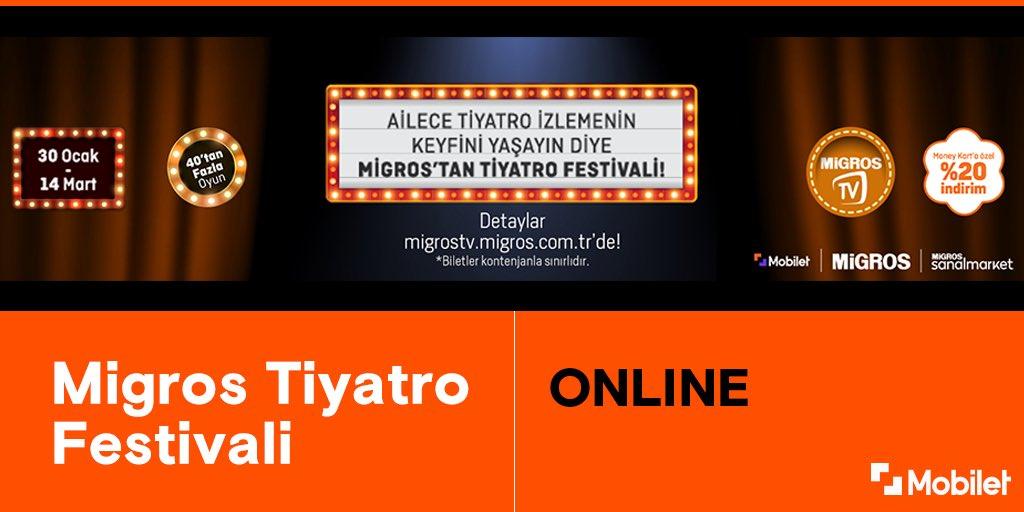 Migros'ta Tiyatro Festivali Başladı🎉  Hem çocuklar hem de yetişkinler için birbirinden eğlenceli dopdolu oyunlar sizleri bekliyor.