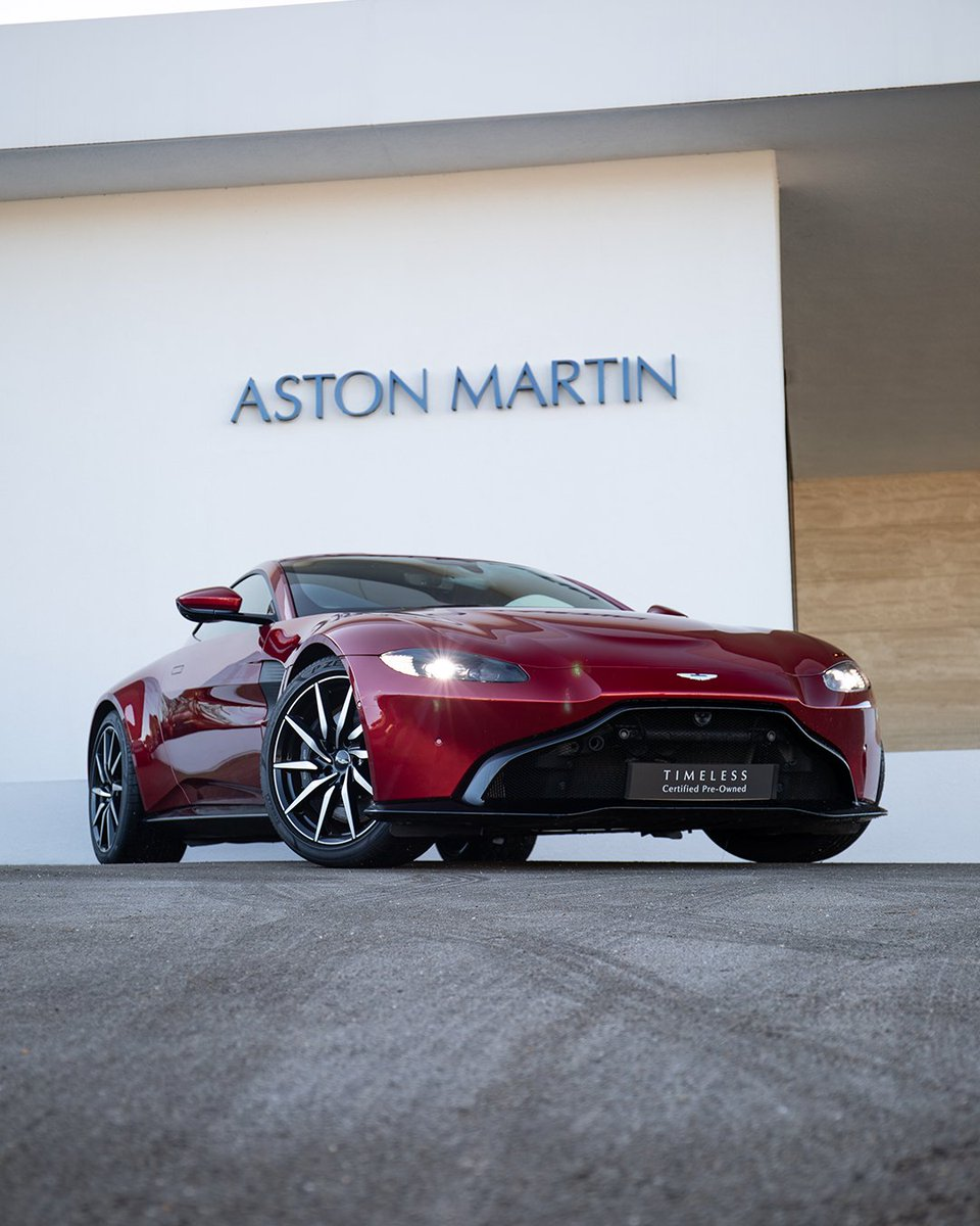 A Q-Special paint finish, the Sport Plus Pack, a 360-degree camera and smoked rear tail-lights are just some of the options selected on this 2019 Certified Pre-Owned Vantage. Find out more:   #AstonMartin #Vantage #NewportPagnell #MiltonKeynes