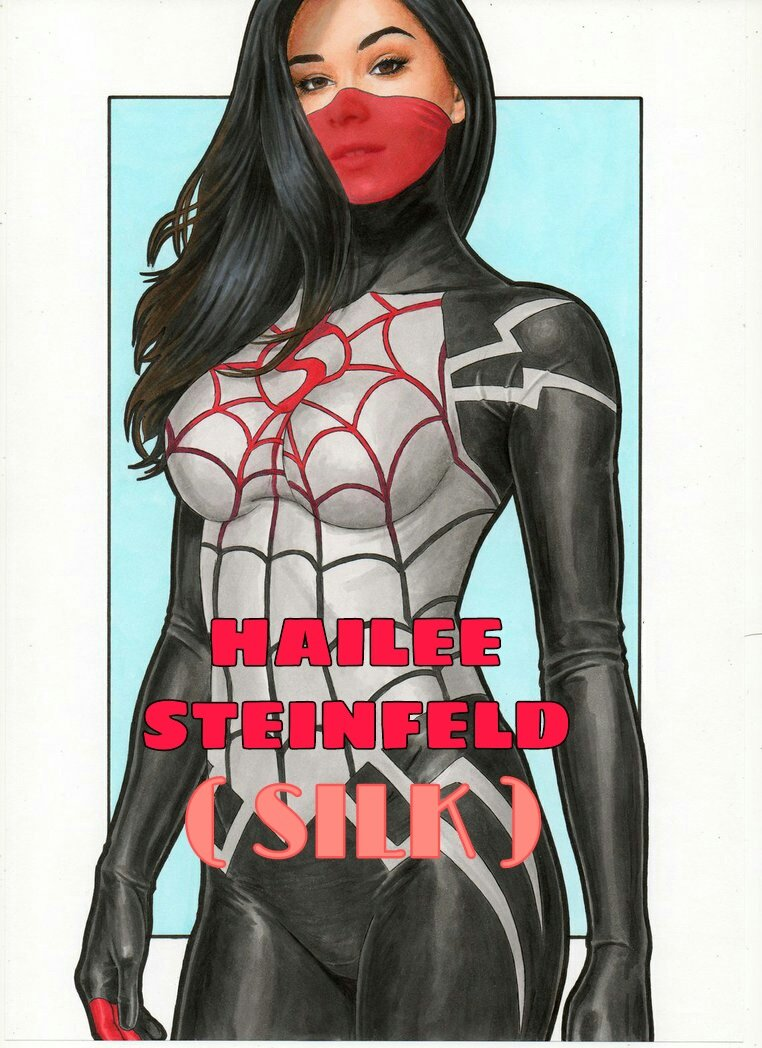 #hailesteinfeld as #spiderwoman   #fridaymorning #FridayVibes #WandaVision #ultron