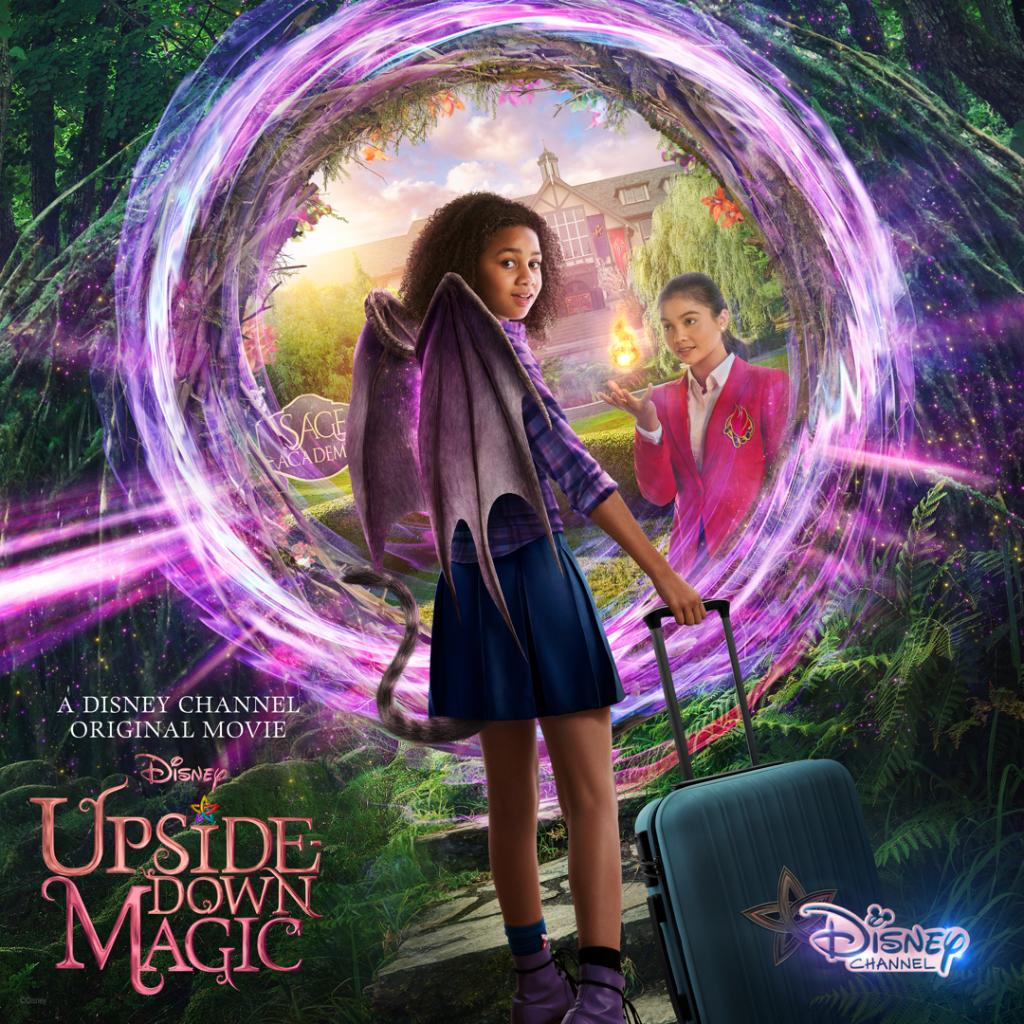 Get ready Upside-Down Magic fans! The Disney Channel Original movie based on the bestselling series by @elockhart, @SarahMlynowski, and @LaurenMyracle will begin streaming on Disney+ on February 5th! ✨ Learn more about the books that started it all here: scholastic.com/upsidedownmagic