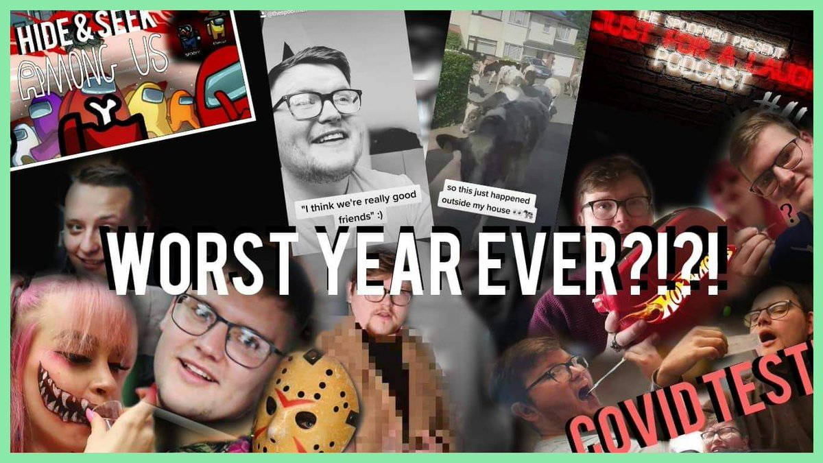 WORST YEAR EVER?!?! Come have a watch and reminisce with The Spoofmen #worstyearever #2020wrapped #lookingback #throwback #YouTube #thespoofmen @YouTube @YouTubeTrends @YouTubeCreators