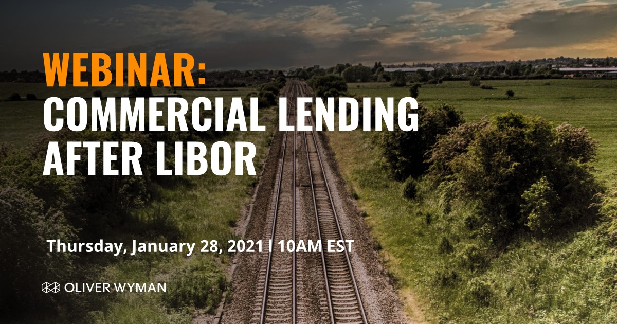 Are you interested in what's next for commercial lending after the #LIBOR transition? Join our experts to learn more and hear their forward projection of the lending market. Register now >  #OWFinancialServices
