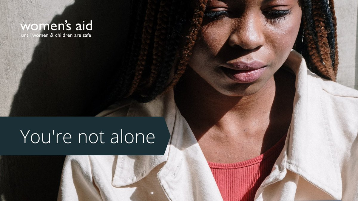 We want all women experiencing #domesticabuse to know they deserve a life free of threat and control.   If you feel trapped in your relationship, please reach out to us via our Live Chat service (open 10am-4pm, weekdays and 10am-12pm, weekends).  ➡️