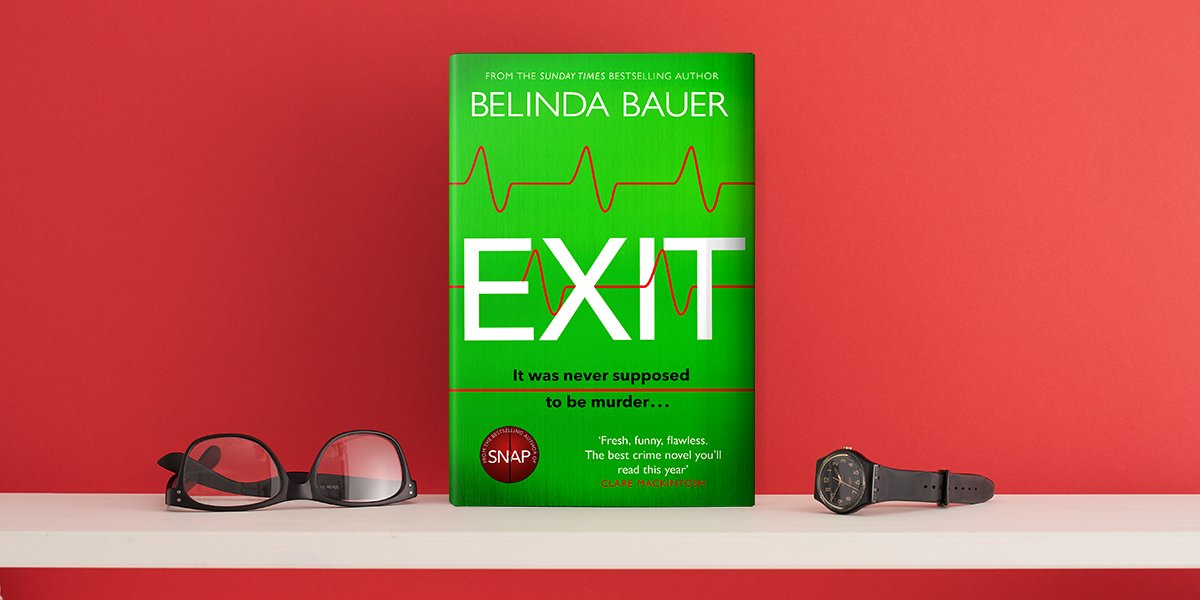 Belinda Bauer's #Exit is out now! The page-turning, twisty new crime novel is perfect for fans of @richardosman's The Thursday Murder Club.   Discover more here: