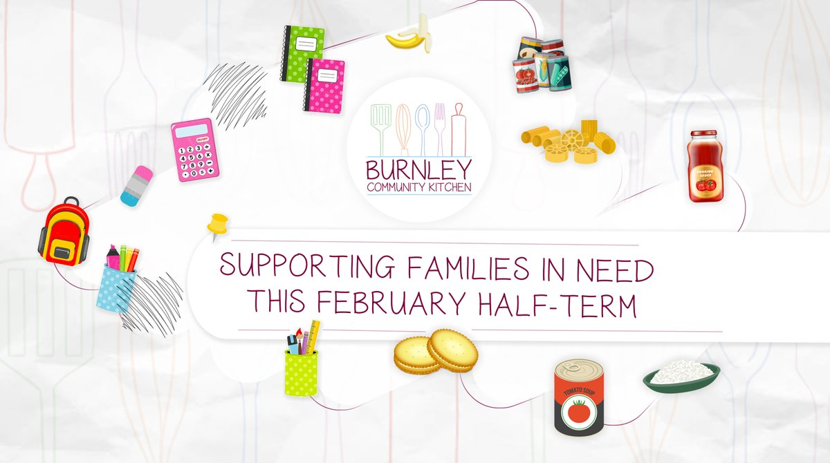 🗞️ @BFCitCKitchen supporting families in need this February half-term.  Burnley Community Kitchen will again be working closely with local schools, colleges & nurseries to provide food parcels to families in need, to ensure no child goes hungry.  Read 👉