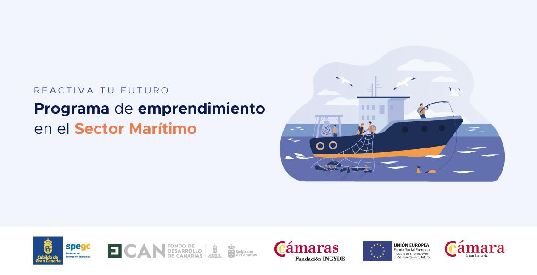 🌊 ¡ Últimas plazas ! Programa gratuito de emprendimiento en el Sector Marítimo Marítimo por streaming. Duración de 54 horas, del 25 de enero al 5 de marzo,   ➕ Información 👉 https://t.co/7XF3ecQiWW ➕ Inscripción 👉 https://t.co/Tzq8v11oAS https://t.co/0Vfyh3Vi74