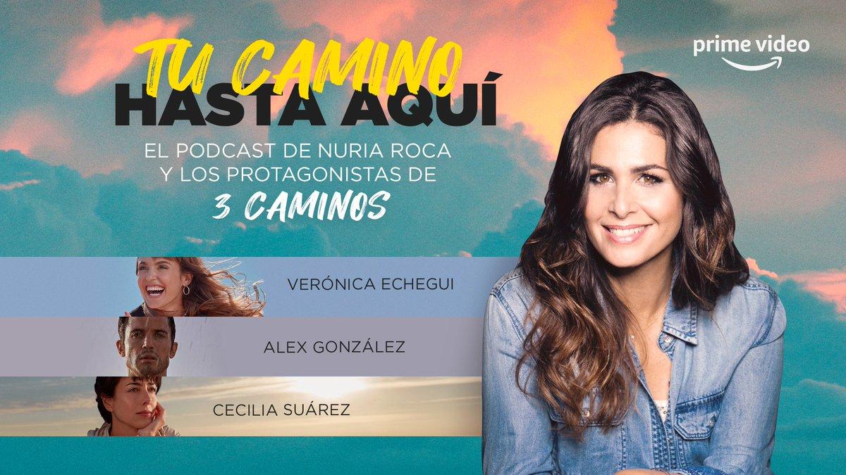 ¿Te imaginas poder conocer a alguien en 20 minutos?  En 'Tu Camino Hasta Aquí', el podcast inspirado en la serie 3 Caminos, @nuriarocagranel nos acompaña por la vida de @alexgonzalezact, @CeciliaSuarezOF y @VEchegui. Escúchalo a partir de la semana que viene. #3Caminos