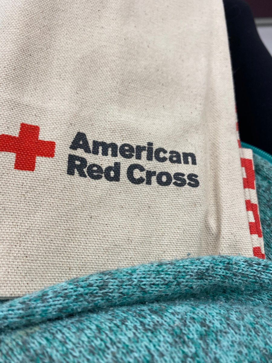 Making the best of my COVID diagnosis by donating convalescent plasma. #RedCross