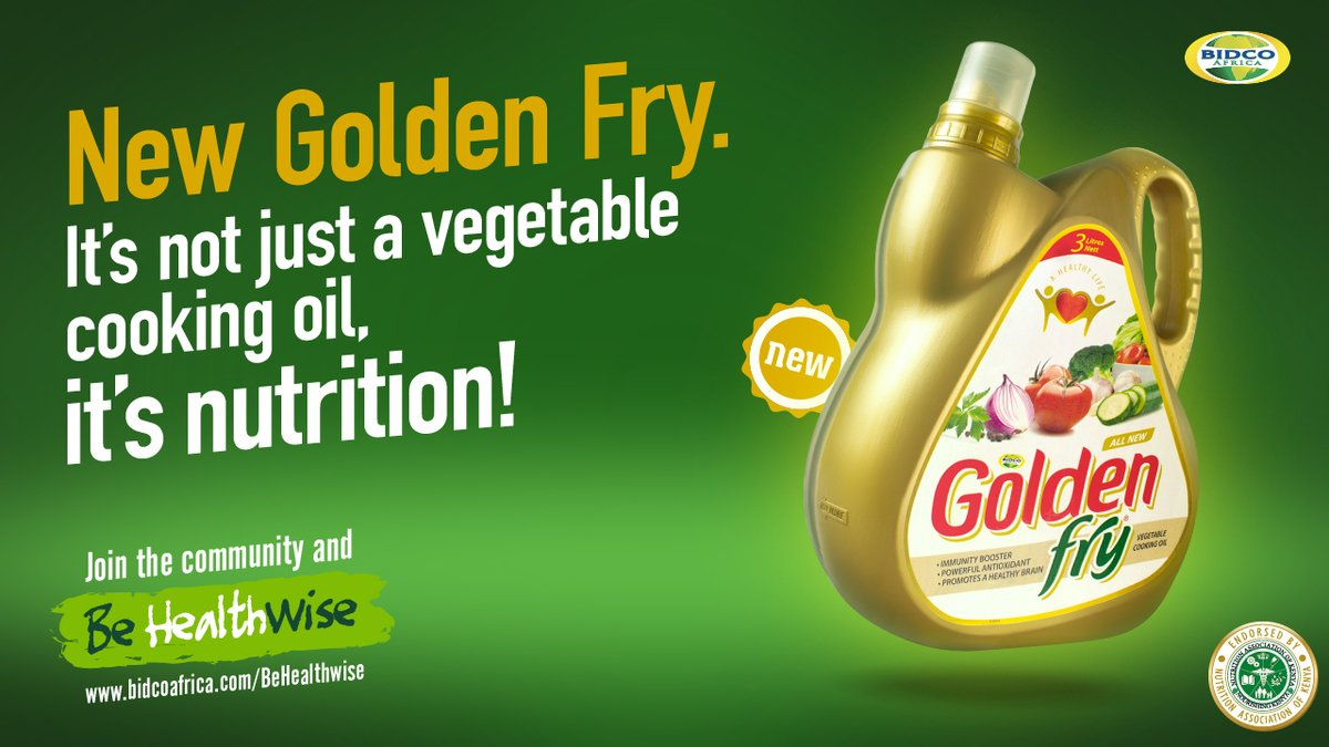 It's not just a Vegetable Cooking Oil, it's NUTRITION! Join the community and #BeHealthwise  #GoodFoodGoodTimes #HappyHealthyLiving @BidcoGroup https://t.co/2UucXWdQMz