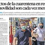 Image for the Tweet beginning: Efectos de la cuarentena en