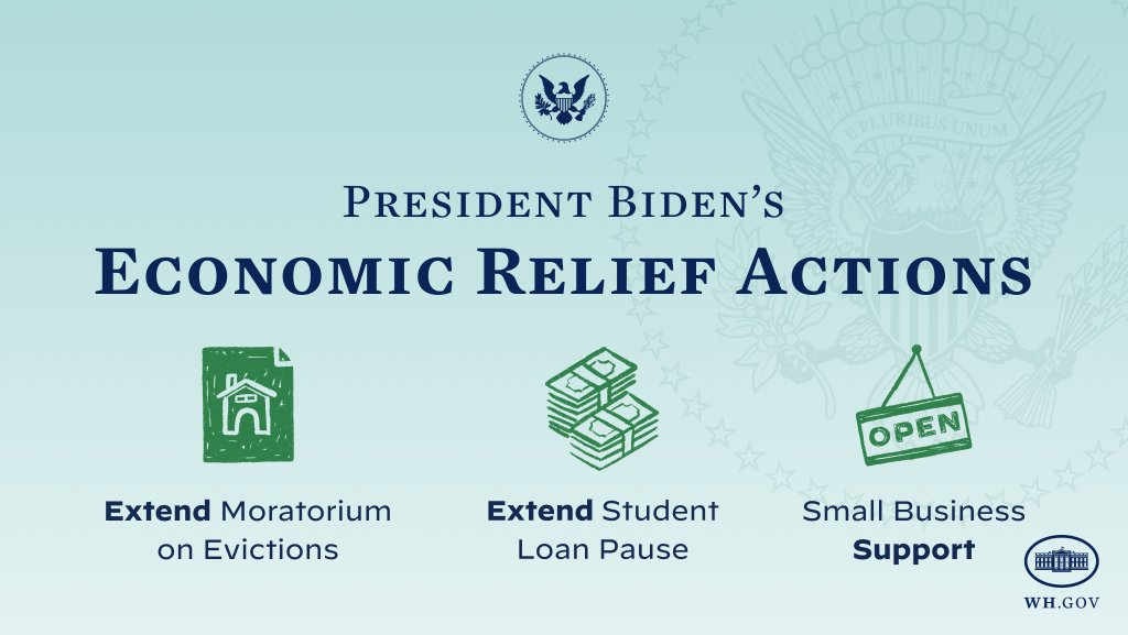 Today, President Biden is taking bold action to provide critical support to struggling communities and small businesses impacted by COVID-19.