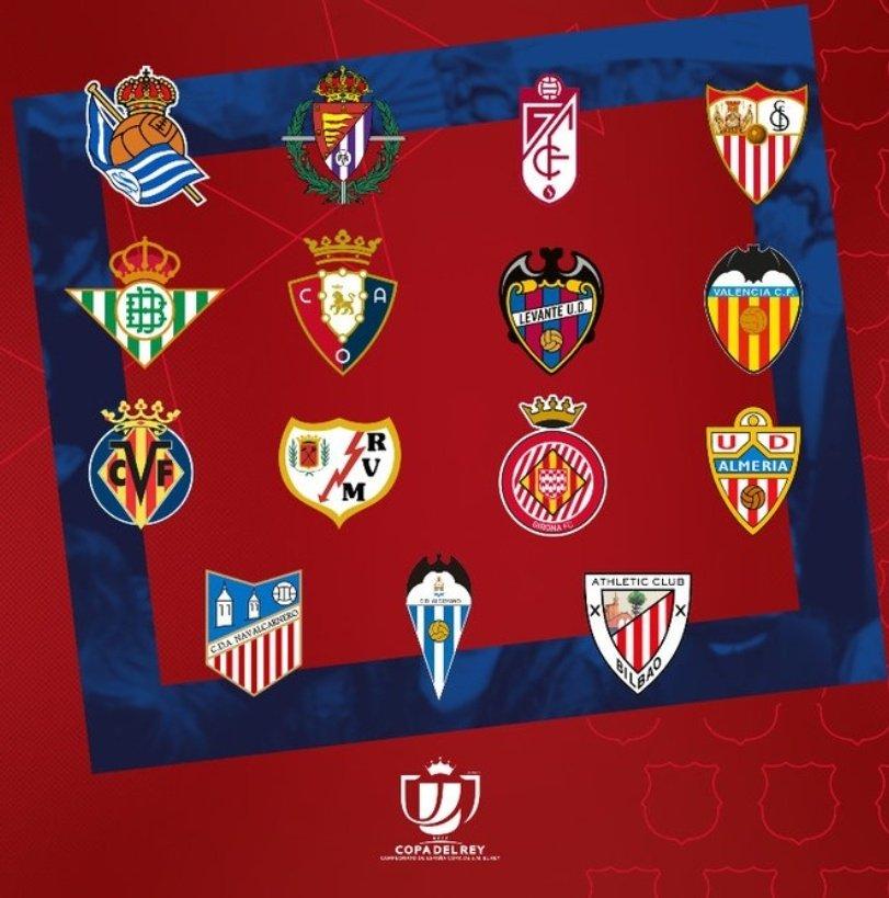 Avui Sorteig de #Copa 🏆 Quin rival pel #Barça voleu a vuitens?🤔 #CopaDelRei #ForçaBarça #Culers  🔴🔵