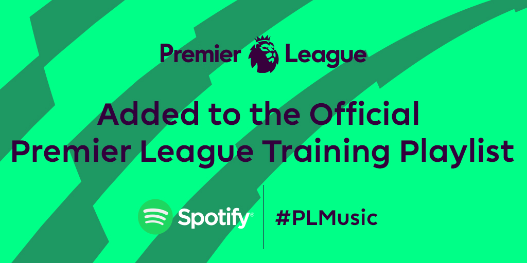 Keep that #FridayFeeling going by working out with the @premierleague training playlist!  Topping the playlist are tracks from @Ritontime x Nightcrawlers, @BissettOfficial and @nathanevans x @220_kid  #PremierLeague #PLMusic #PL #TrainingPlaylist