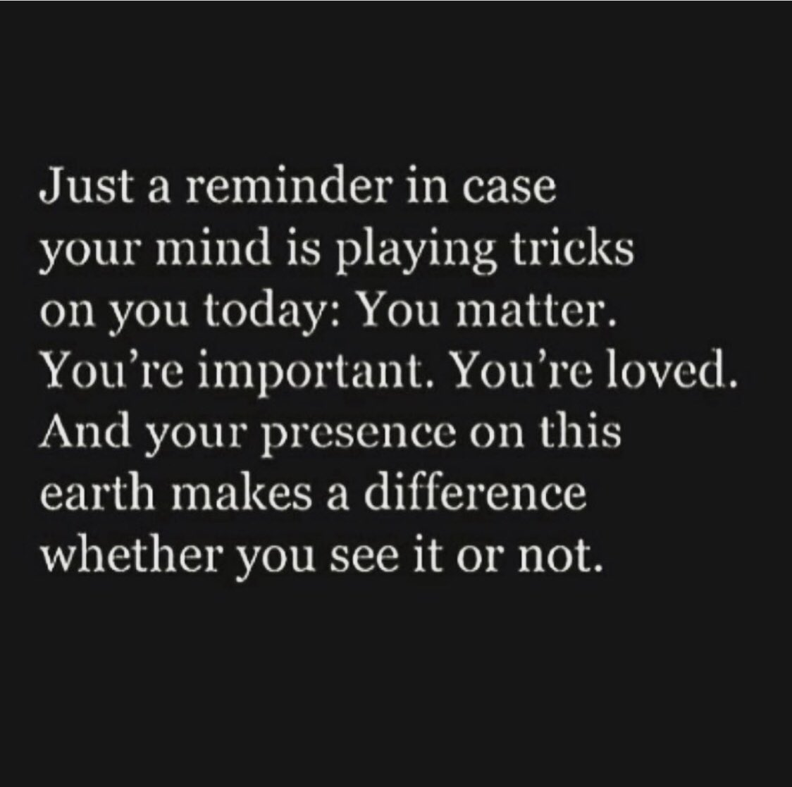 Just remember #mentalhealth