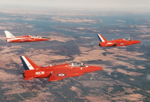 A mini swarm of #Gnat aircraft in this uncredited photo from the #WarbirdsWorldwideNAM collection that's been added to the #NAMarchive #AVgeek #DiverseAviation #PhotoFodder  #NAMLockdown21timeline
