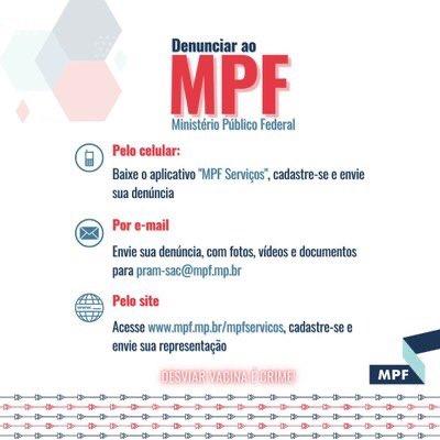 Ajude o MPF a identificar e processar os furadores de fila da vacina pra covid: pode ser por aplicativo, por e-mail ou pelo site.