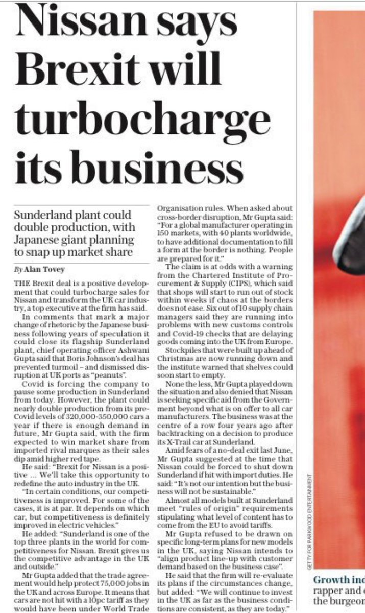 "Very good news for Sunderland. Not so good for consumer choice. Not quite the ""pro-competitive"" free trade some imagined."