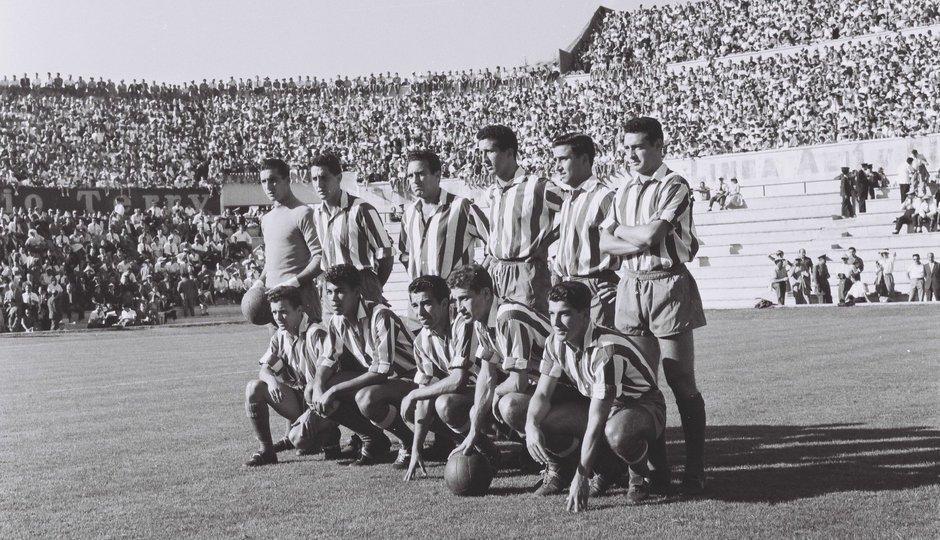 El 17 de septiembre de 1958, el Atleti disputó el primer partido europeo de su historia. El rival fue el campeón de Irlanda, el Drumcondra FC. El partido disputado en el Metropolitano terminó con un 8-0 a favor del Atleti. En Dublín, el resultado fue 1-5 🔴⚪️🇪🇺#AupaAtleti