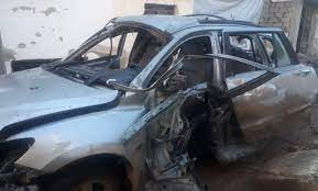 According to @HalabTodayTV, commander of the National Liberation Front and his family were injured due to an #IED #explosion in his car in #Idlib CS #Syria