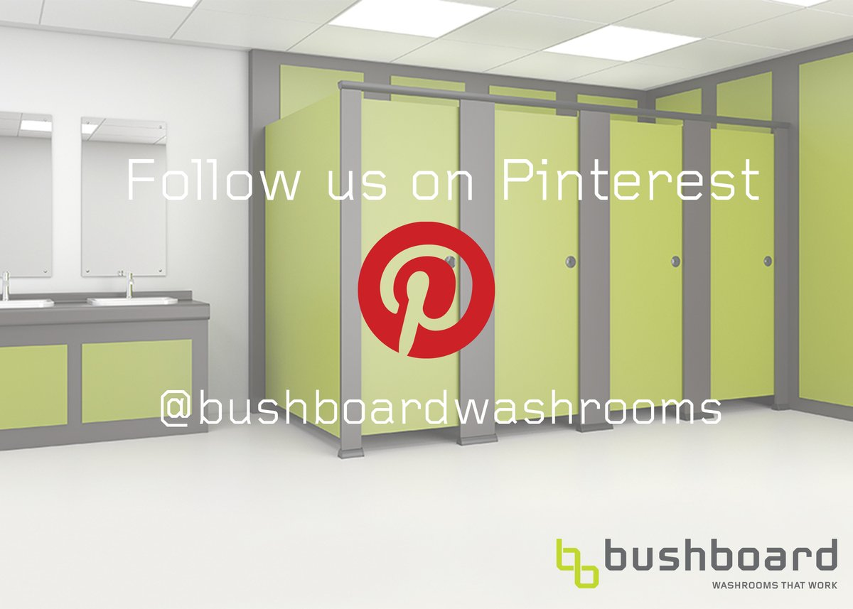 Looking for creative ideas? Planning your next #washroom #project.  Pin @Bushboard_WS images and create #boards from our latest #casestudies, updated #freshcontent and up and coming #cubicle trends.  Follow us today:   #ThursdayThoughts #cubicles #projects