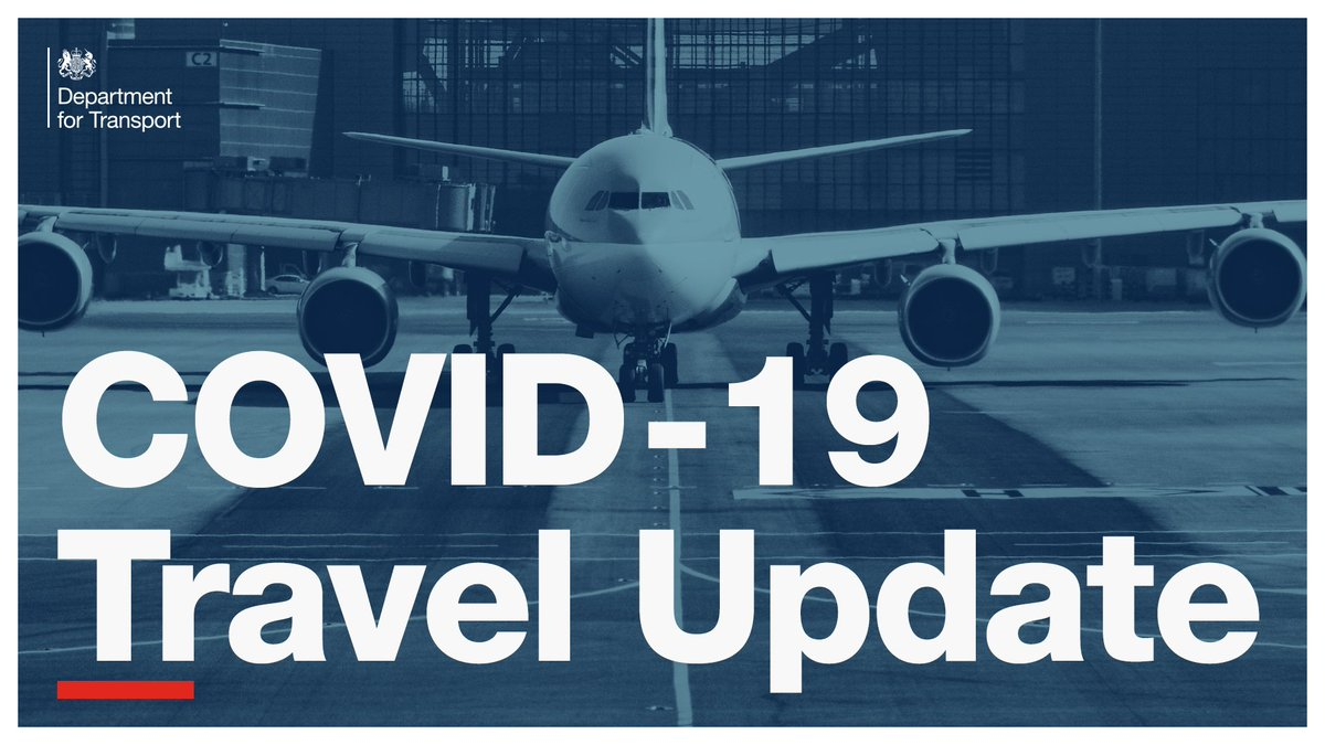 Travel Update 1/2 To help stop the spread of the COVID-19 variant identified in South Africa, we have banned all arrivals from Tanzania and the Democratic Republic of the Congo.