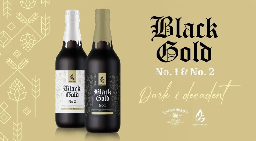 Still a few left!  Black Gold 1 & 2 are our first limited edition beers but when they're gone, they're gone!  Get yours now! 🍻👇    #ogvtaproom #craftbeer #barrelaged #limitededition #stout #shoplocal #beer