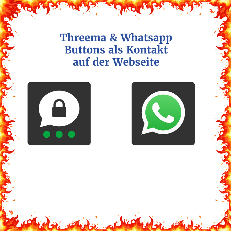 💦🔥 #Threema & #WhatsApp Brand gelöscht... #fragdenroger #Messenger #Wordpress #WordpressPlugin #WordpressPlugins #webseite #Webdesign https://t.co/0W13616wa0