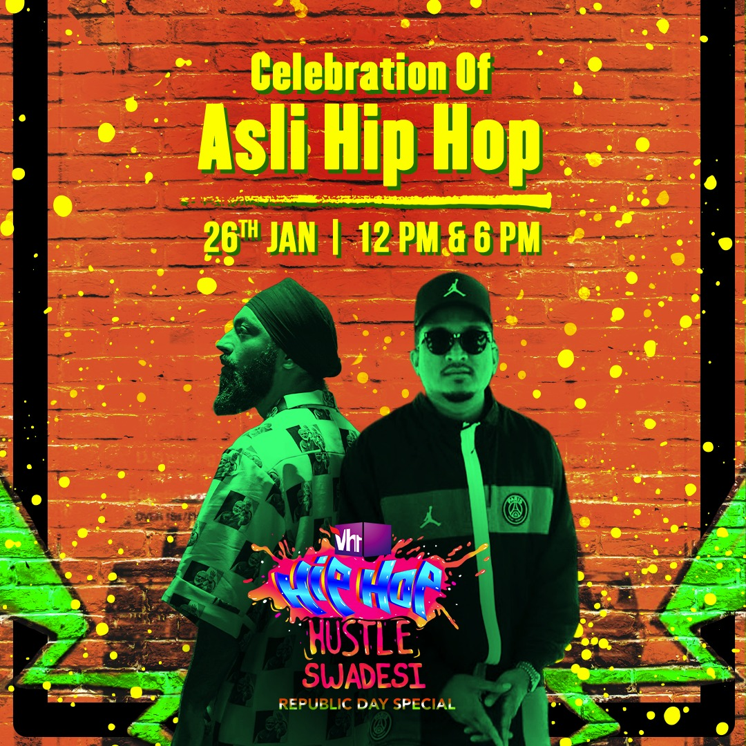 This #RepublicDay, celebrate India with the nation's finest Hip-Hop artists. Tune-in to #Vh1HipHopHustleSwadesi: Republic Day Special, only on #Vh1India.   #GetWithIt