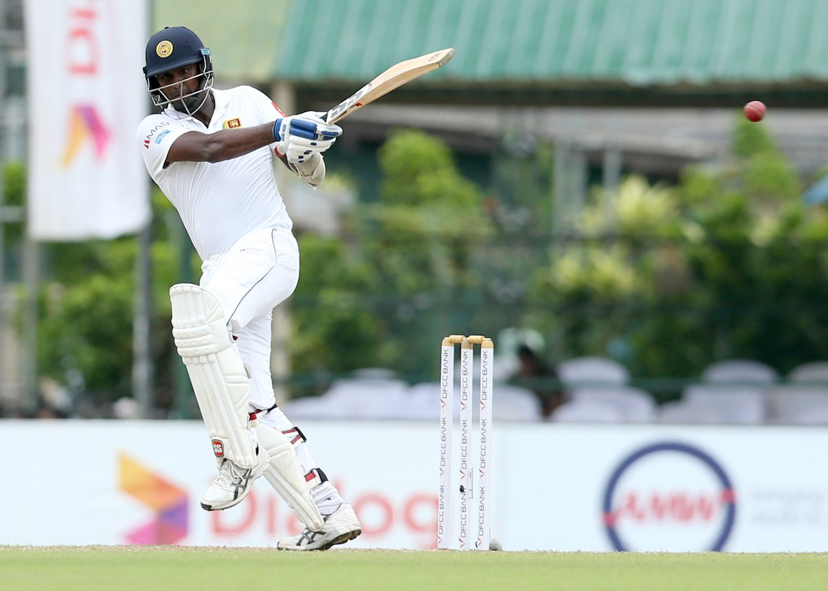 11th Test hundred in 88 Tests for Angelo Mathews, his 3rd against England #SLvENG #SLvsENG    https://t.co/WOR27UuaY0 https://t.co/rP1hTH6z1R