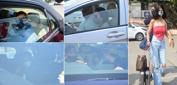 #VarunDhawan And #NatashaDalal Along With #Family Member Headed To #Alibaug      #DavidDhawan #LaliDhawan #AnilDhawan #AnjiniDhawan #RohitDhawan #JaanviDesaiDhawan #VarunNatashaWedding