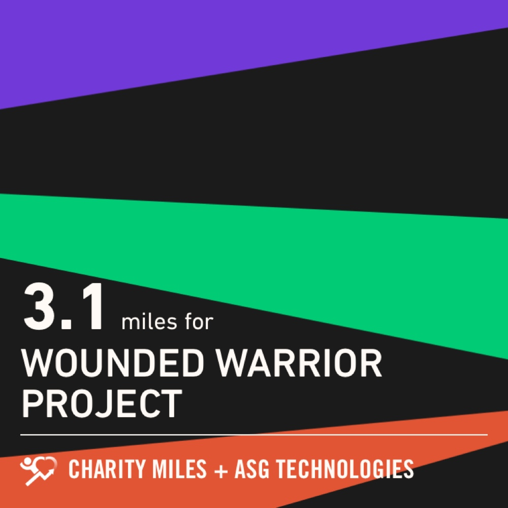 3.1 @CharityMiles! #everymilematters #dontlettheoldmanin