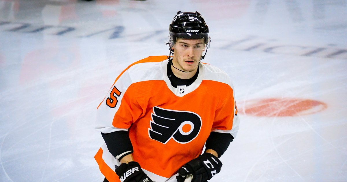 Flyers lose defenseman Philippe Myers and center Morgan Frost to injury  #Sports #Flyers