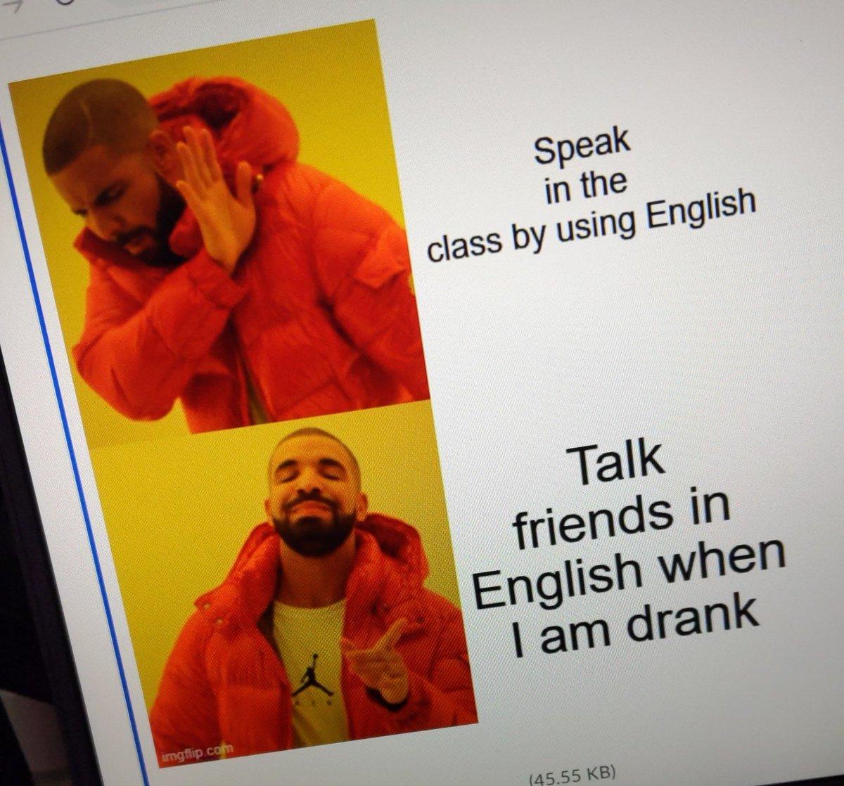 Number 1 #drake #meme #elt #students #remoteteaching #remotelearning