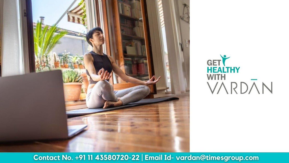 Join our 'Get Healthy with VARDĀN' Virtual sessions with Yogacharya Surakshit Goswami every Thursday (4:00 to 5:00pm). Call: +91 011 43580720-22 to find out more about 'Get Healthy with VARDĀN'. #fit #fitness #workout #healthy #health #lifestyle #gethealthy #sessions