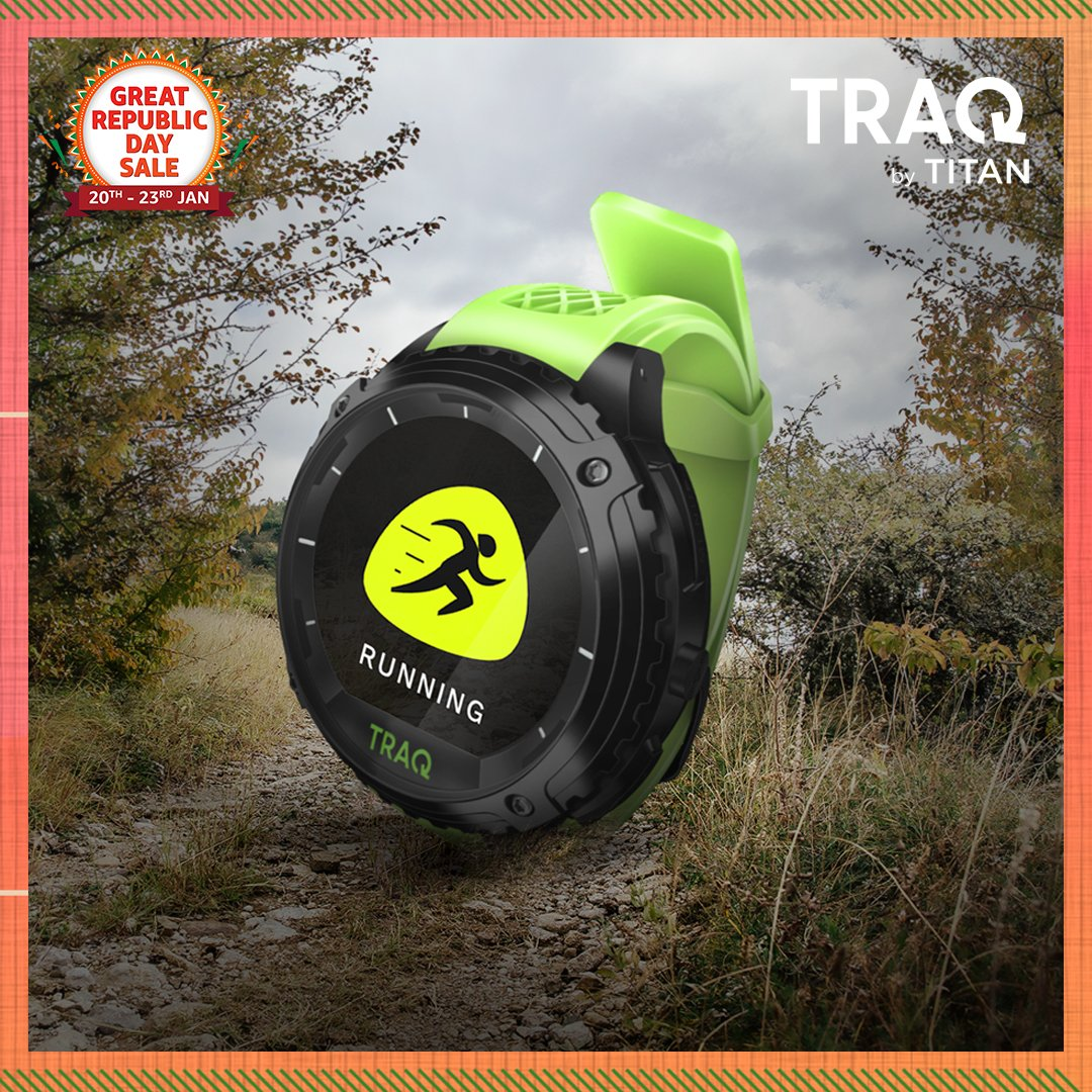 Make staying fit your goal for '21 & do it with the @TraQbyTitan fitness tracker! Shop now & grab this device during the #AmazonGreatRepublicDaySale:   #Traq #TraqByTitan #Watches #Fitness #NewBeginningBigSavings #Sale #AmazonFashion #HarPalFashionable