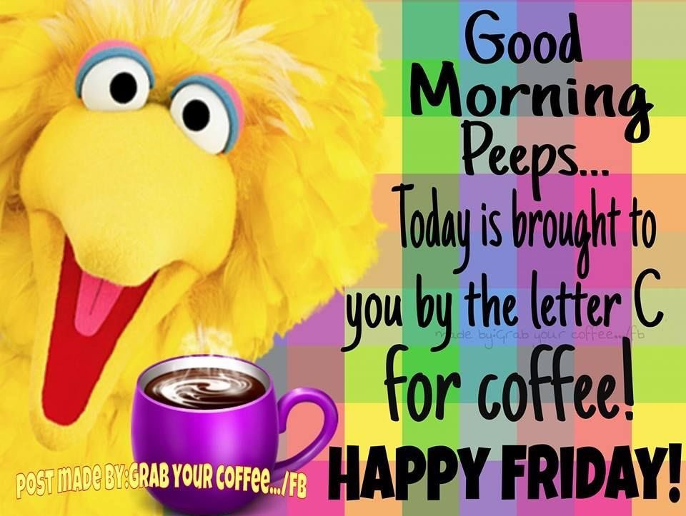 Good Morning!  Happy Friday!  We made it to the end of the week!  I hope your day is filled with joy and happiness!  Be a light. Be a blessing. Be kind.  🤗🤗💜💜☕️☕️ TGIF!! #FridayFeeling #FridayThoughts #YouGotThis #YouAreLoved #grateful #blessed #hugs