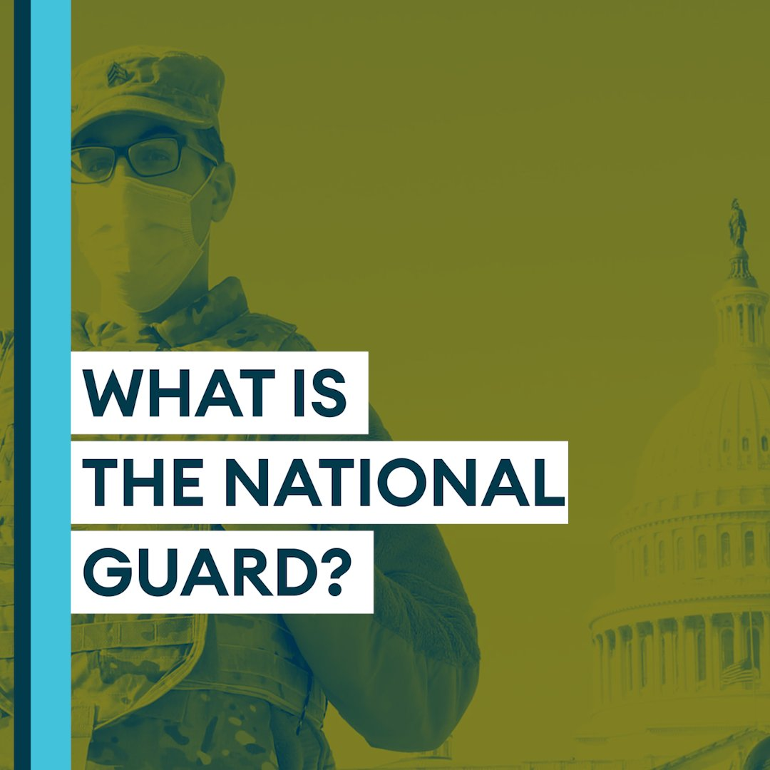 This week, 25,000 members of the US National Guard were deployed to Washington DC for #InaugurationDay.  We spoke to the former chief of the US National Guard Bureau, Lieutenant General H Steven Blum, to find out more about the service. 👇