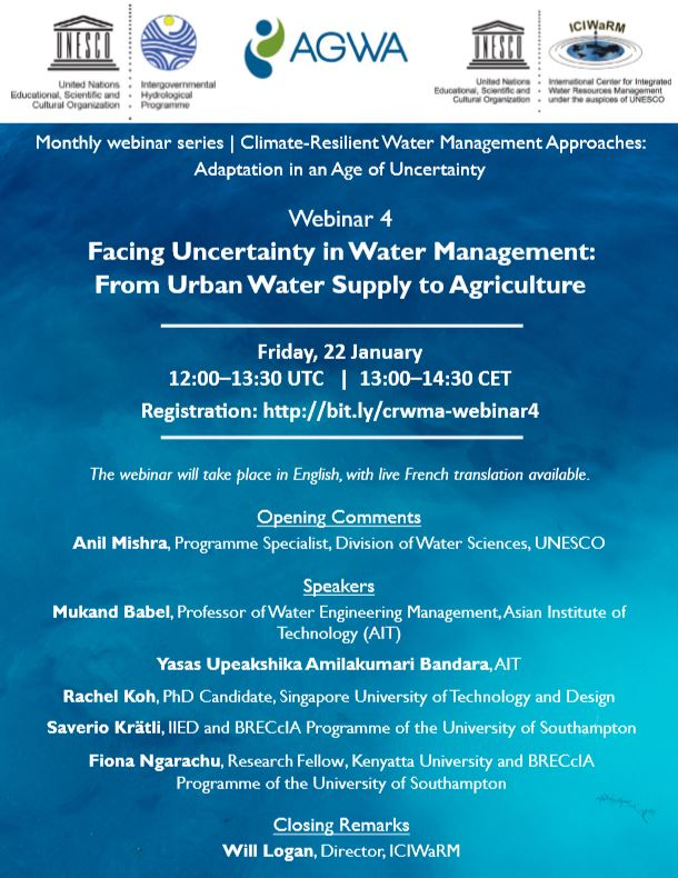 test Twitter Media - Colleagues Dr Fiona Ngarachu @fngarachu of @KenyattaUni and Dr Saverio Krätli of @IIED are about to present in the @unescoWATER @Alliance4Water #ICIWaRM webinar series, introducing #CRIDA water applications for valuing variability for food production in Africa.  @unisouthampton https://t.co/DfkD8ybQp0