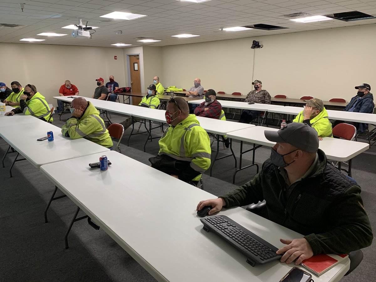 LTU's Winter Operations team goes through a variety of training every year to prepare for the winter weather. With a possibility of snow and freezing drizzle Saturday, our team is developing a plan to maintain the roads. #LTUSnowfighters #ThankYou #Lincoln #LNK