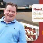 Image for the Tweet beginning: Need jewellery? Declan can help.